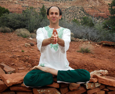 Yogi Blair in Sedona