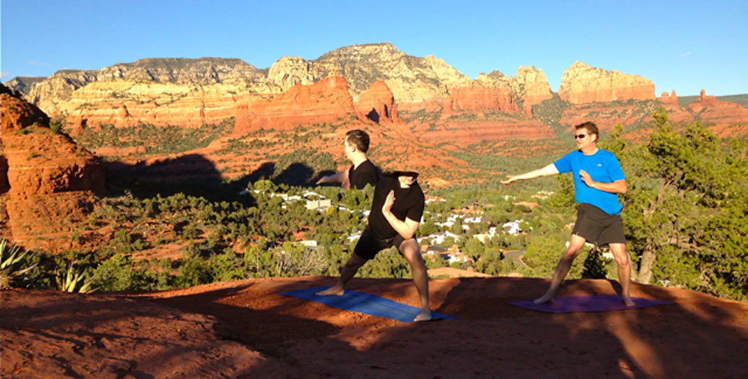 Sedona QiGong red rock matrix quantum vortex
