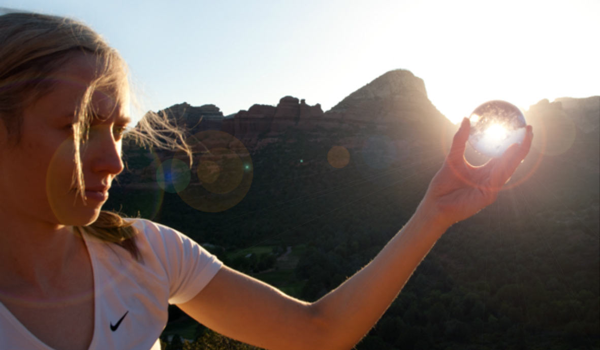 Using crystals in Sedona